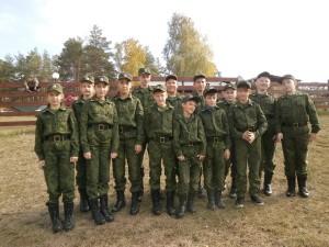 Кадетский казачий класс МОУ СОШ №3