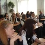 Встреча со старшеклассниками, сентябрь 2015